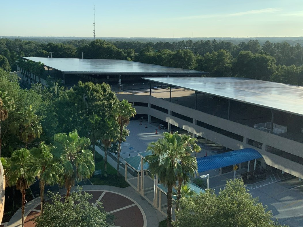 Empower Energies Completes Construction on a 1.8 MW Solar Garage Parking Canopy Project in the Sunshine State